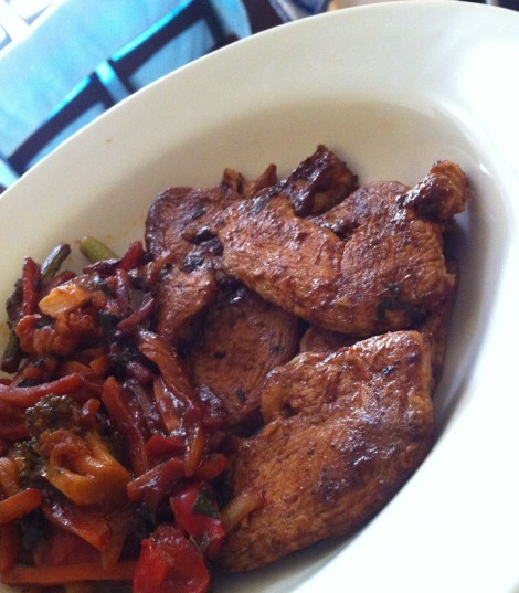 chicken and veggies picture