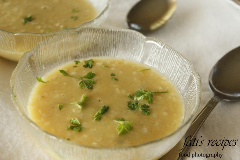 lolling lentil soup: syrian style
