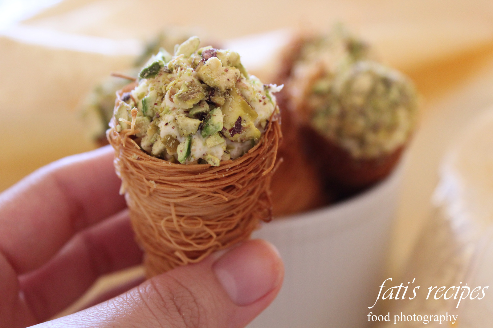 how to use kataifi pastry