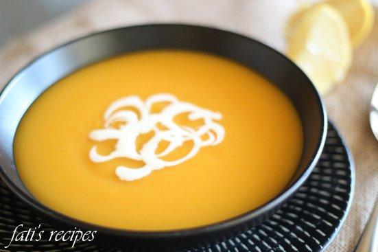 petite pumpkin soup