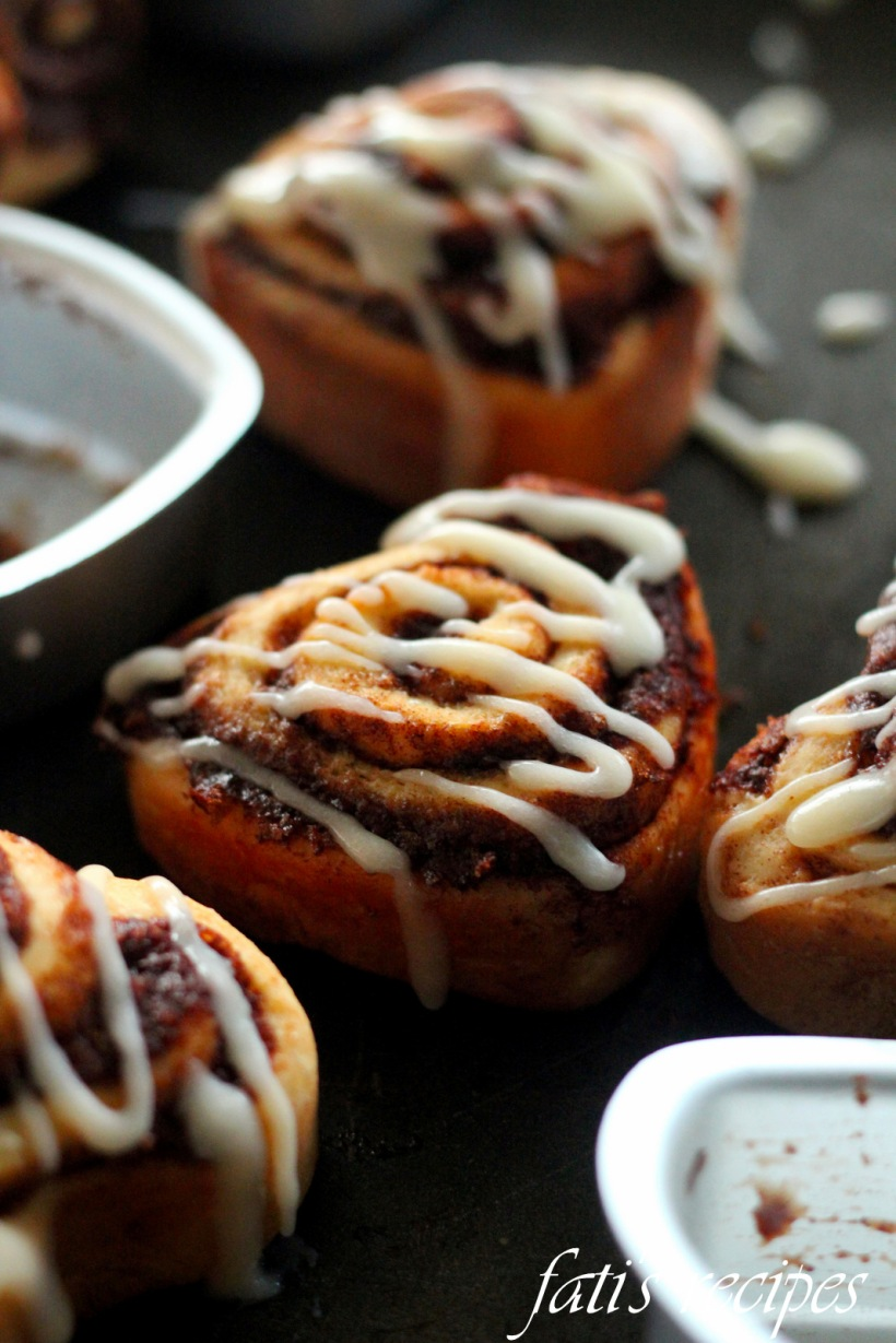 hearty cinnamon rolls