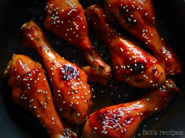 honey teriyaki drumsticks