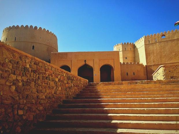 Al-Nakhal Fort in Al-Batinah, Oman